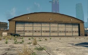 The Airplane Hangar in Saints Row: The Third