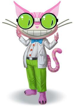 Promotional artwork of Professor Genki.
