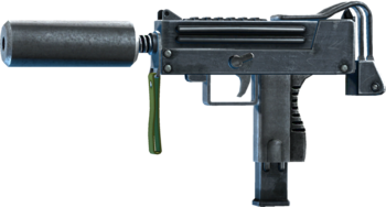 """""""Magna 10mm"""" Rapid-Fire SMG."""