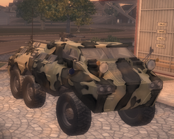 Bear - Camo variant in Saints Row 2.png
