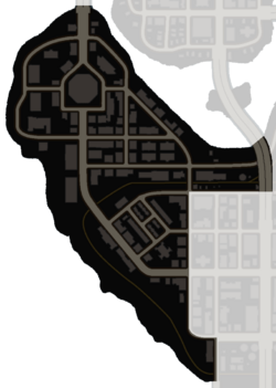 Map of Yearwood in Saints Row: The Third