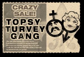 Gang Customization in Saints Row 2 - Crossdressers gang unlock coupon.png