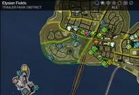 Map in Saints Row 2 - Trailer Park - Elysian Fields.png