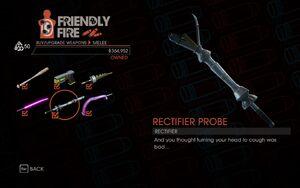 Rectifier Probe in Friendly Fire