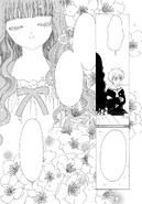 Tomoyo analiza a Eriol (manga)