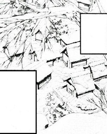 Snowy night village.jpg