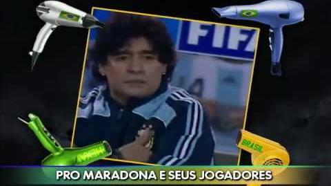 Hino Mundial 2010 - Eu sei que vou contra a Argentina!!!