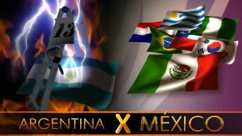 Mundial 2010 - Arriba Mexico!!!