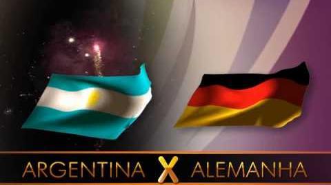 Mundial 2010 - Nos dói muito dizer isso, mas... Pra Frente Argentina!!!