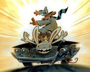 Sam & Max Main Menu Image