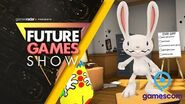 Sam and Max This Time It's Virtual! Gameplay Presentation - Future Games Show Gamescom