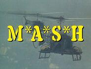 M-A-S-H TV title screen