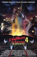 A Nightmare on Elm Street 4 - The Dream Master (1988) theatrical poster