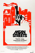 Mean Streets original 1973 theatrical poster