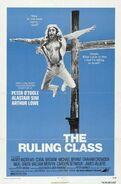 1972 Peter Medak film The Ruling Class distribution poster U.S