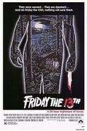 Friday the 13th (1980) theatrical poster