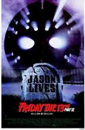 Friday the 13th Part VI - Jason Lives (1986) theatrical poster