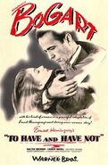To Have and Have Not (1944 film) poster