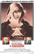 To the devil poster