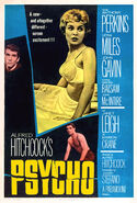 Psycho (1960) theatrical poster (retouched)