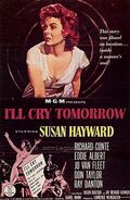 Ill cry tomorrow poster