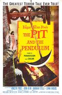 The Pit and the Pendulum (1961 film) poster