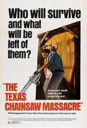 The Texas Chain Saw Massacre (1974) theatrical poster