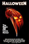 Halloween (1978) theatrical poster