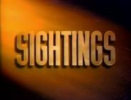 Sightings Title Card