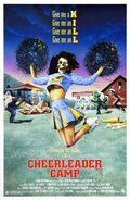 Cheerleader Camp dvd cover