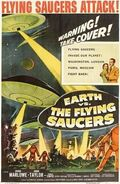 Earth vs the Flying Saucers DVD