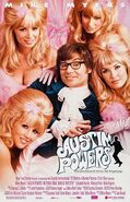 Austin Powers International Man of Mystery theatrical poster