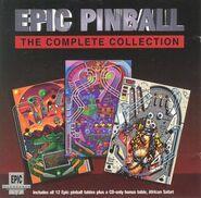 Epic Pinball UK CD Cover