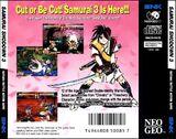 Samsho3 neogeocd jp boxart back