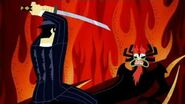 Samurai Jack vs Aku (Jack and the Gangsters)