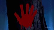 Blood mark