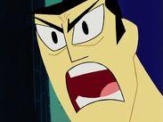 Jack gets angry