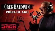 Behind the Scenes with Greg Baldwin Samurai Jack Battle Through Time Adult Swim Games