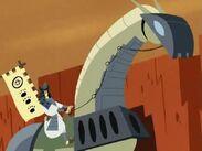 Makeshift samurai armor