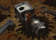 Destroyed Robot