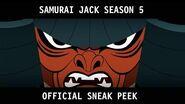 Samurai Jack (Season 5) - Official Sneak Peek HD
