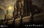 Sanctuary-wall syfy