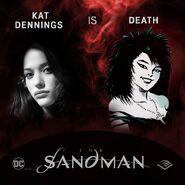 The Sandman Audible Kat Dennings Death
