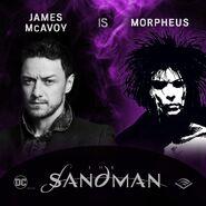 The Sandman Audible James McAvoy Morpheus (1)