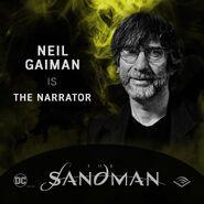 The Sandman Audible Neil Gaiman Narrator