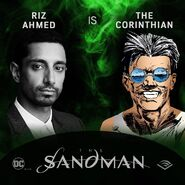 The Sandman Audible Riz Ahmed The Corinthian
