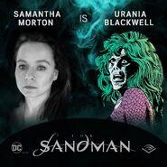 The Sandman Audible Samantha Morton Urania Blackwell
