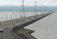 San mateo hayward bay bridge