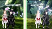 Sword Art Online Re Hollow Fragment & Lost Song PS4 Gameplay Trailer 【HD】