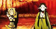Alicia y Sakuya